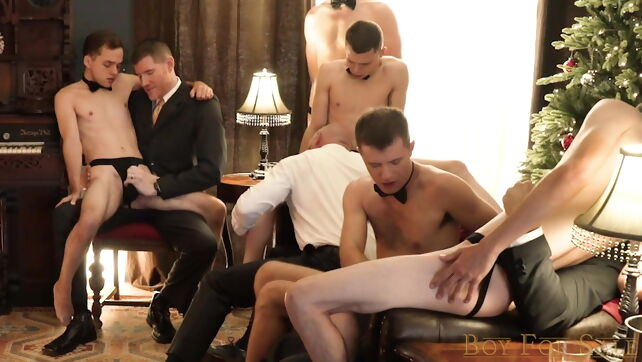 Gay Xnxx - BFS - Buyers' Group- Chapter 8- XMas Party Favor twink