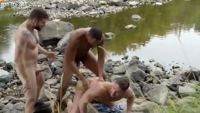 Gay Xnxx - Into The Woods bareback
