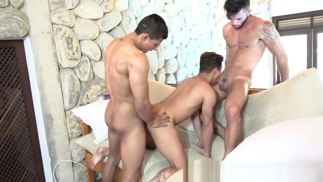 Gay Xnxx - Rodrigo, Andy Star & Fabio big cock